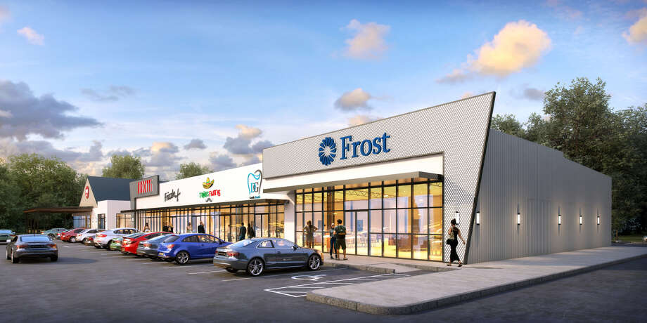Frost Bank will occupy 3,800 square feet in Braun Enterprises' new retail center near U.S. 290 and Fry Road in the Cypress area.  Photo: Braun Enterprises
