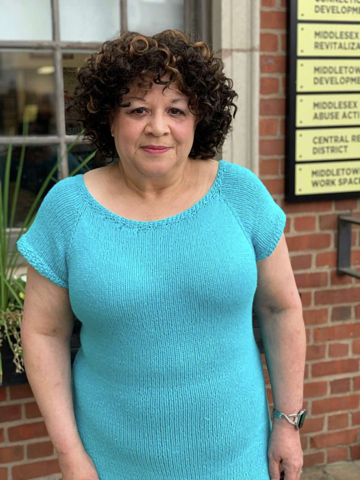 Pamela Steele, owner of Pamela Roose Specialty Handknits and Yarn is the new chairwoman of the Middlesex County Chamber Chamber of Commerce Central Business Bureau in Middletown.