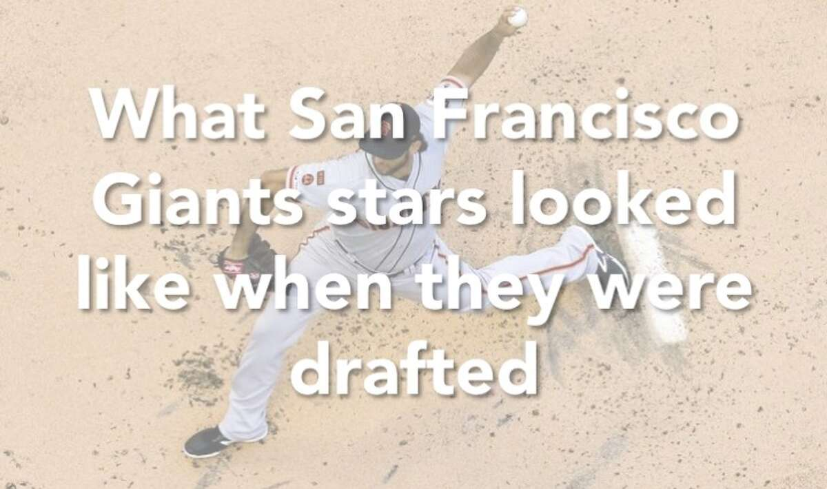 Here's what past and present San Francisco Giants looked like when they were drafted. Click through the slideshow to see the fresh-faced players!