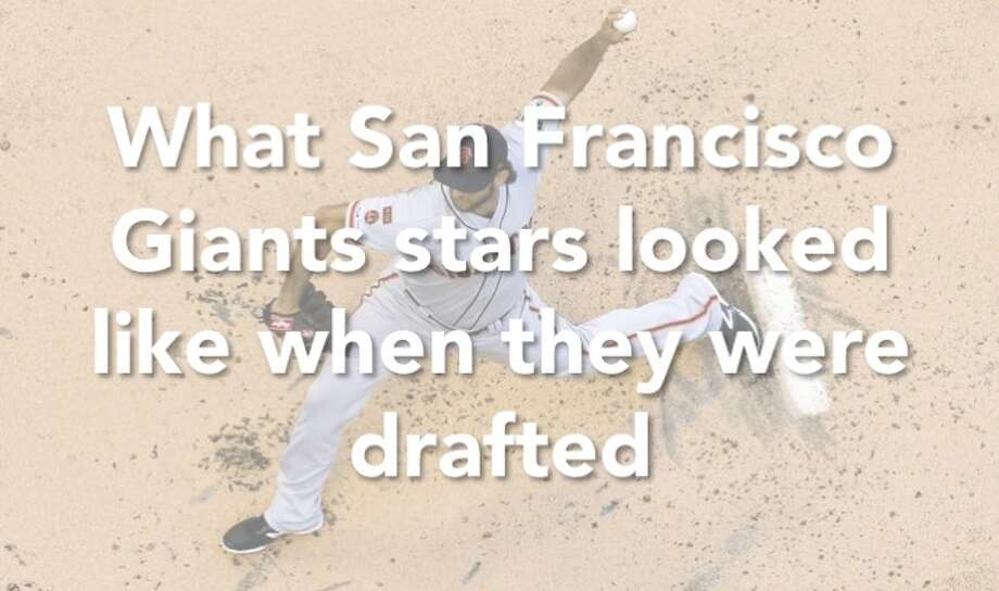 Here's what past and present San Francisco Giants looked like when they were drafted. Click through the slideshow to see the fresh-faced players! Photo: Morry Gash / Associated Press