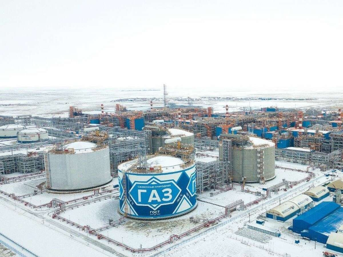 Built by oilfield service company Technip FMC, Novatek's Arctic LNG export terminal is located on the Yamal Peninsula of Siberia. Contract wins to build a second LNG terminal in the Russian Arctic and offshore industiries boosted revenues for TechnipFMC by double digits during the second quarter. NEXT: See recent earnings from area energy companies.