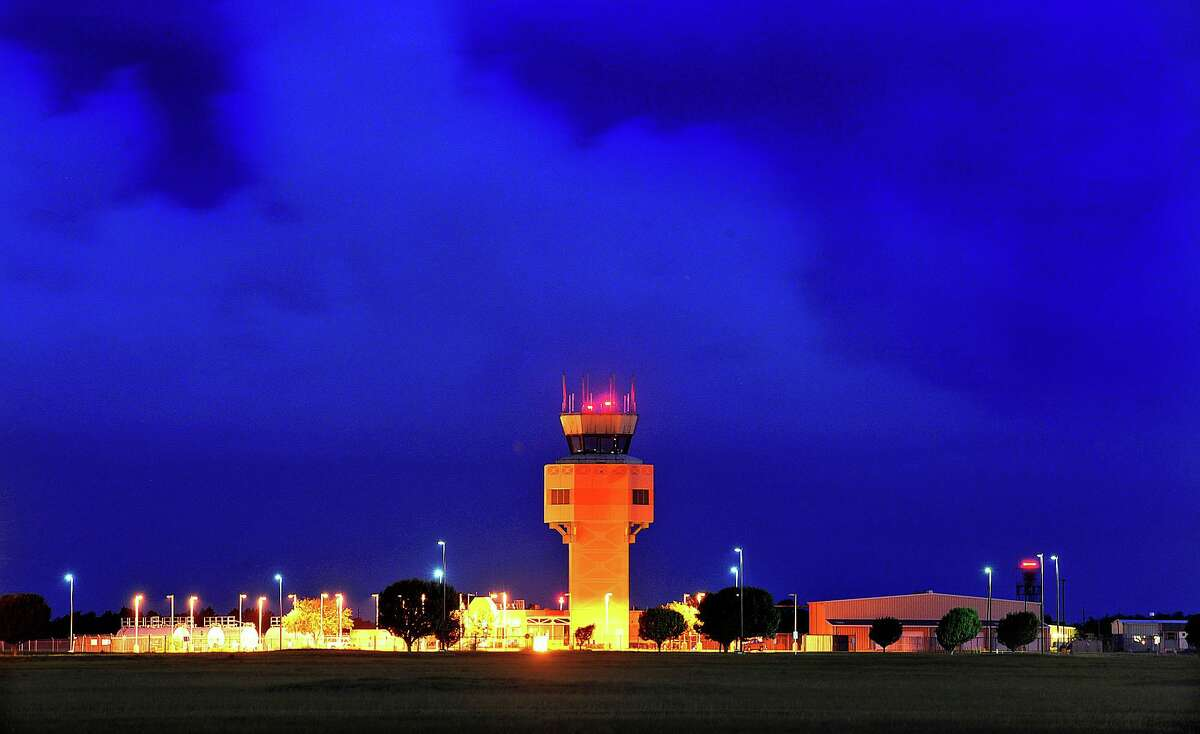 Air control tower at the Jack Brooks Regional Airport Photo taken Monday, July 15, 2013 Guiseppe Barranco/The Enterprise