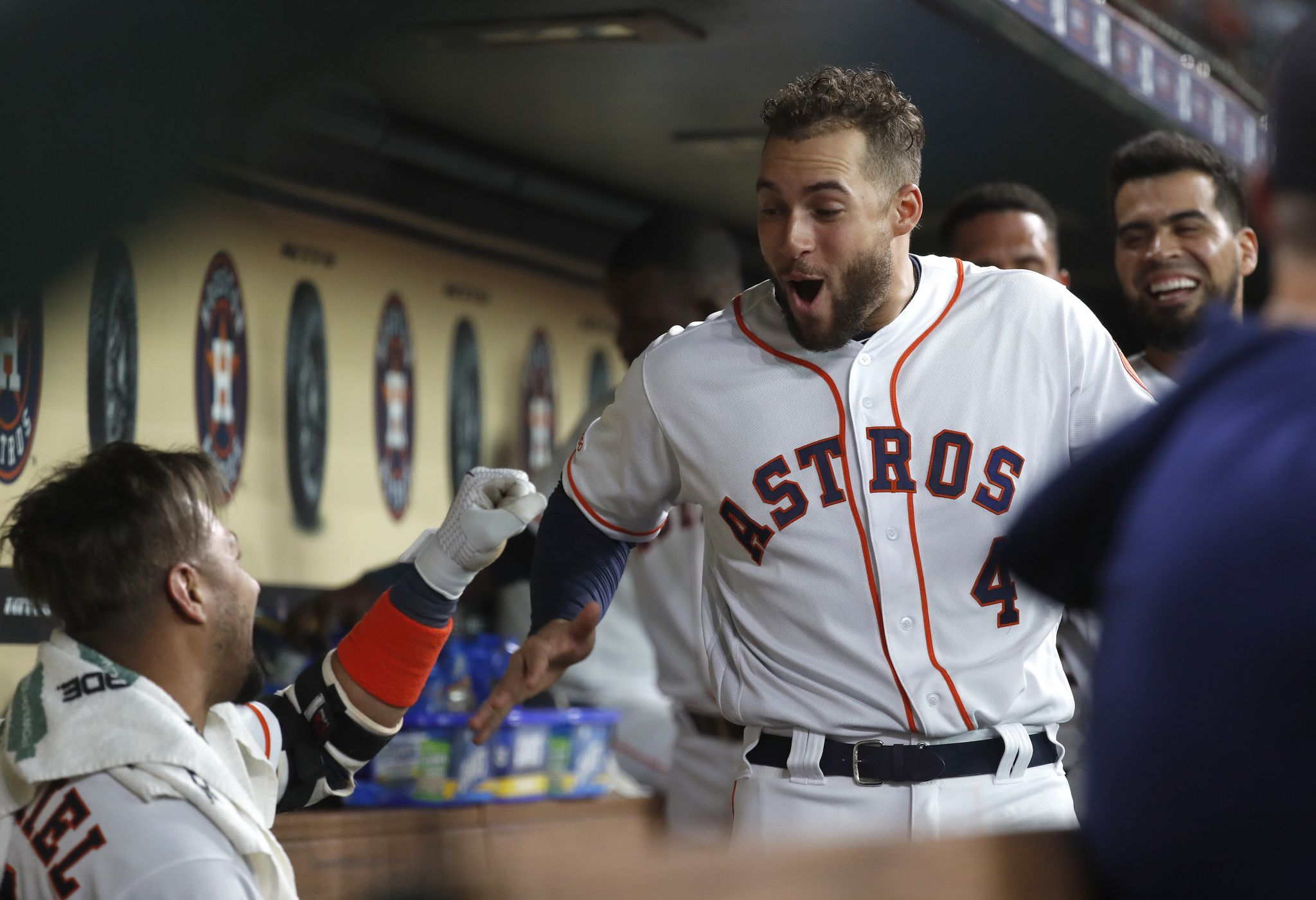 George Springer out of Astros' lineup for rest