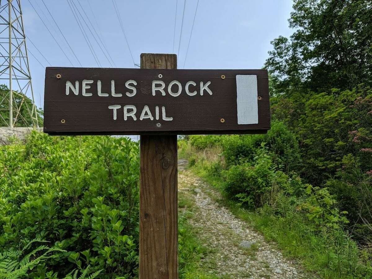 Nells Rock Trail is the site for Saturday's Shelton Trails Committee work party.