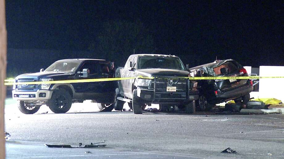 A man in his 40s is dead following an overnight vehicle crash on the city's far North Side, according to the Bexar County Sheriff's Office. Photo: Ken Branca