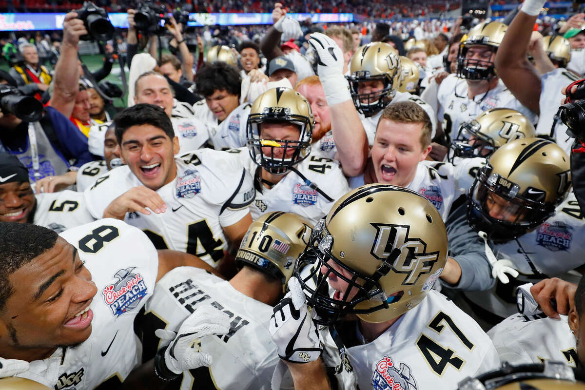 Central Florida declared itself national champions after going undefeated in 2017, but the chances of an AAC school cracking the College Football Playoff are remote each season.