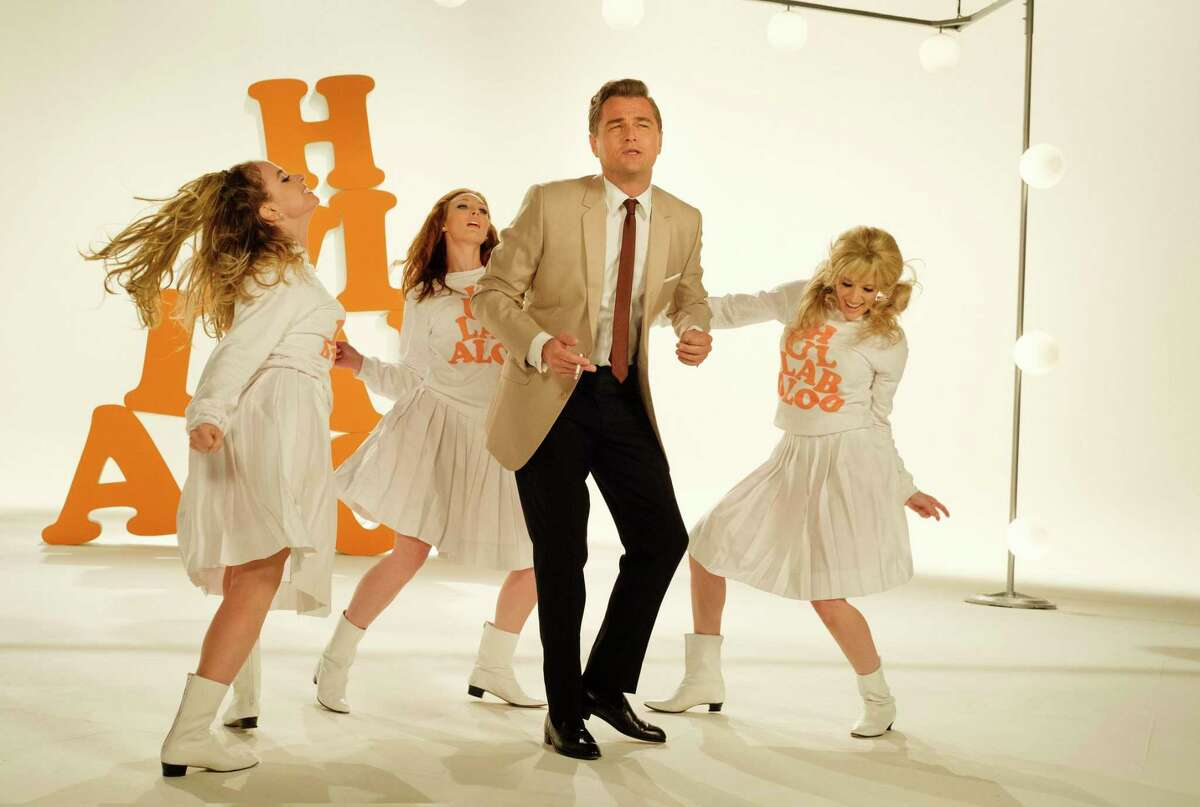 """This image released by Sony Pictures shows Leonardo DiCaprio in Quentin Tarantino's """"Once Upon a Time in Hollywood."""" (Andrew Cooper/Sony-Columbia Pictures via AP)"""