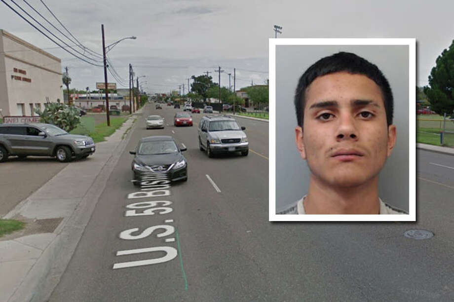 Laredo police have released more information on the hit-and-run crash that knocked down two light poles. Photo: Courtesy