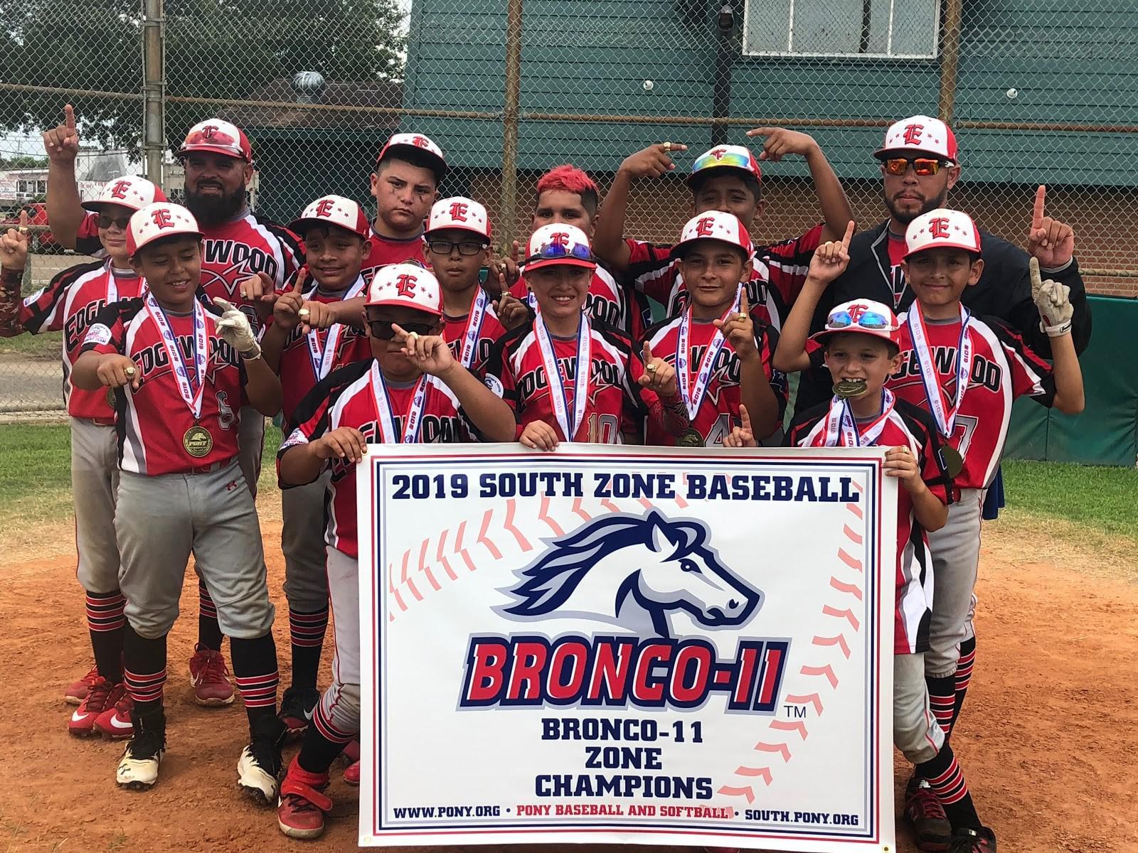 Edgewood advances to PONY League's Bronco-11 World Series
