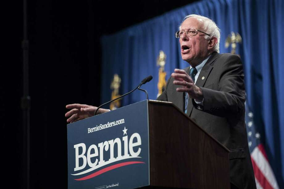 Democratic presidential hopeful Sen. Bernie Sanders calls himself a democratic socialist, and Republicans are jumping on the term. Photo: Sarah Silbiger /Getty Images / 2019 Getty Images