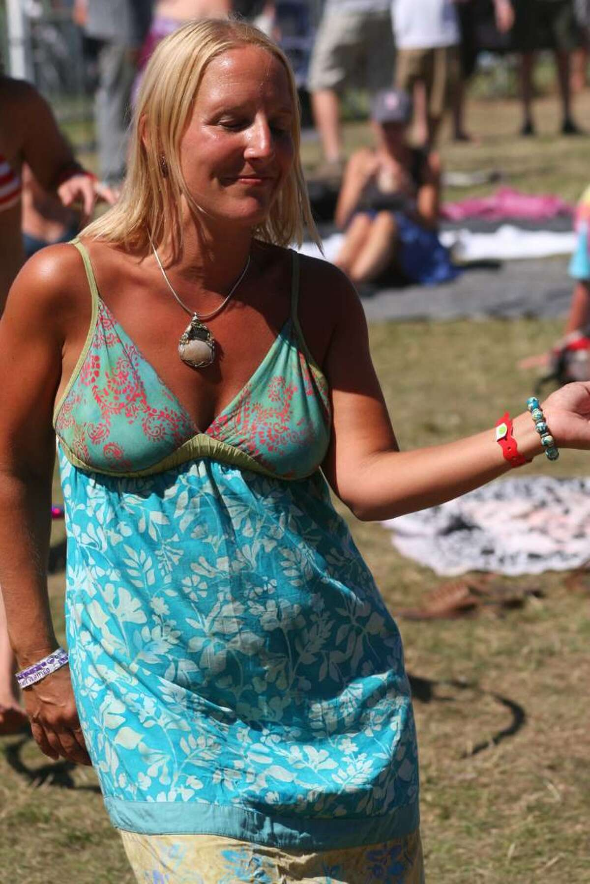 Everyone attending the annual Gathering of the Vibes festival in Bridgeport enjoyed a third day of great weather as they danced to the music of many different artists.