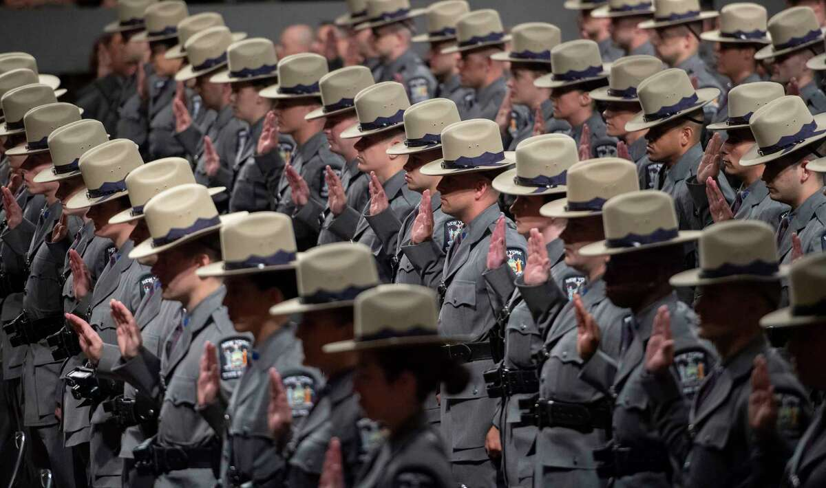 Two hundred and twenty eight new Troopers joined the ?'Long Grey Line?