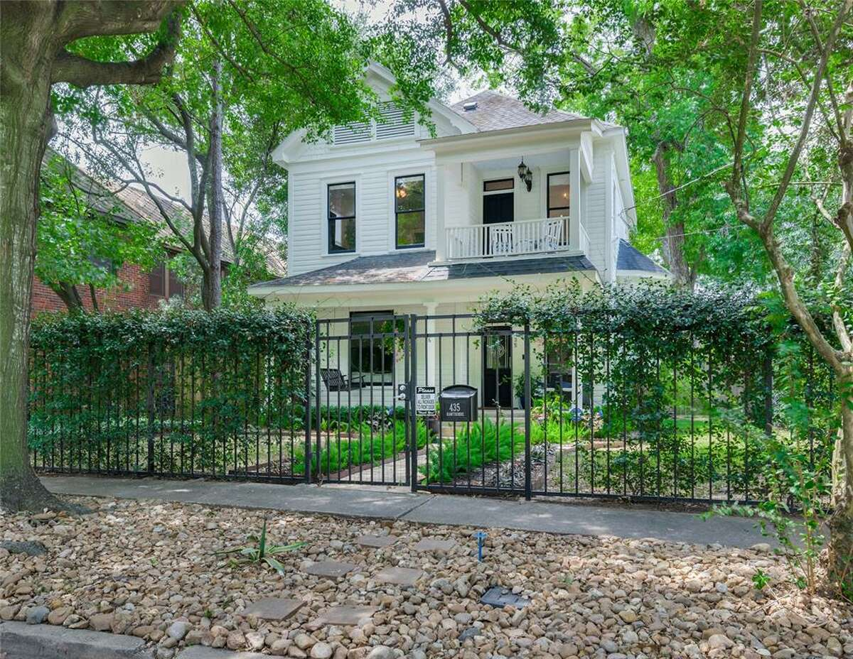 When Lyndon Johnson came to work in Houston, he was a boarder at 435 Hawthorne at the corner of Hawthorne and Garrott. Now, the house is for sale. >>>See the ins and outs Johnson's stay in Houston, the house and what it is like today