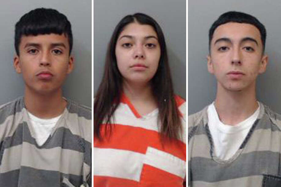 Three people were arrested for ransacking a home and pawning the items they stole, authorities said. Photo: Courtesy