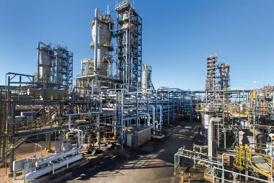 Exxon Mobil's newly expanded polyethylene plant in Beaumont, Texas will help to make Texas the company's number one polyethylene producing location. Photo: Courtesy Exxon Mobil