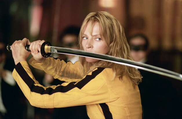 Kill Bill: Vol. 1 (2003)   Kill Bill: Vol. 2 (2004) Leaving HBO Max July 31 Photo: ANDREW COOPER / Andrew Cooper/AP / MIRAMAX