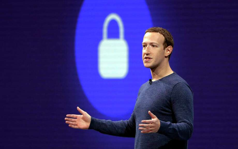 FILE - In this May 1, 2018, file photo, Facebook CEO Mark Zuckerberg delivers the keynote speech at F8, Facebook's developer conference, in San Jose, Calif.  Photo: Marcio Jose Sanchez / Copyright 2018 The Associated Press. All rights reserved.