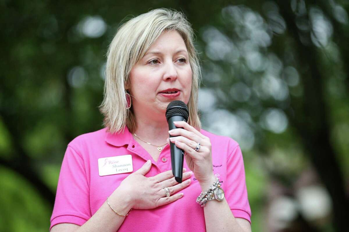 Shannon Lecoq is the chief development officer of The Rose, a nonprofit breast health care organization based in Houston.