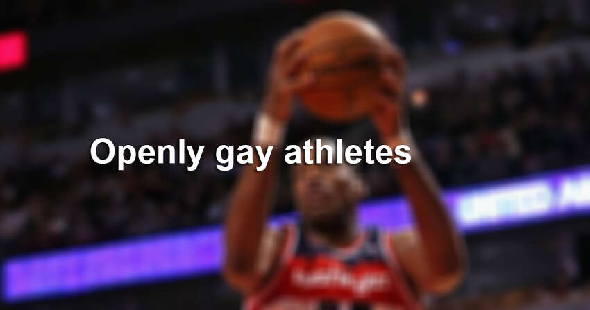 Openly gay athletes.