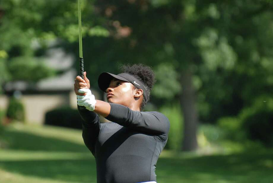 Kyra Cox was the first-round leader at the 54th Connecticut Women's Amateur at Oronoque Country Club on Wednesday, July 24, 2019 in Stratford, Conn. Cox, the defending champion, shot a 4-over 76. Photo: CSGA / Contributed Photo / Stamford Advocate Contributed
