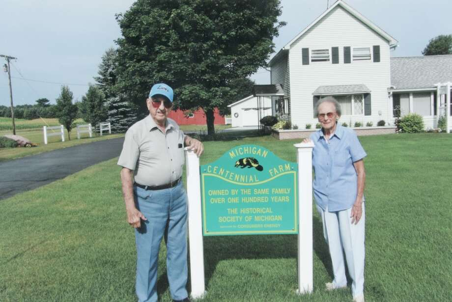 The Jefts Family Farm Honored As A Centennial Farm By The Historical Society Of Michigan Big Rapids Pioneer