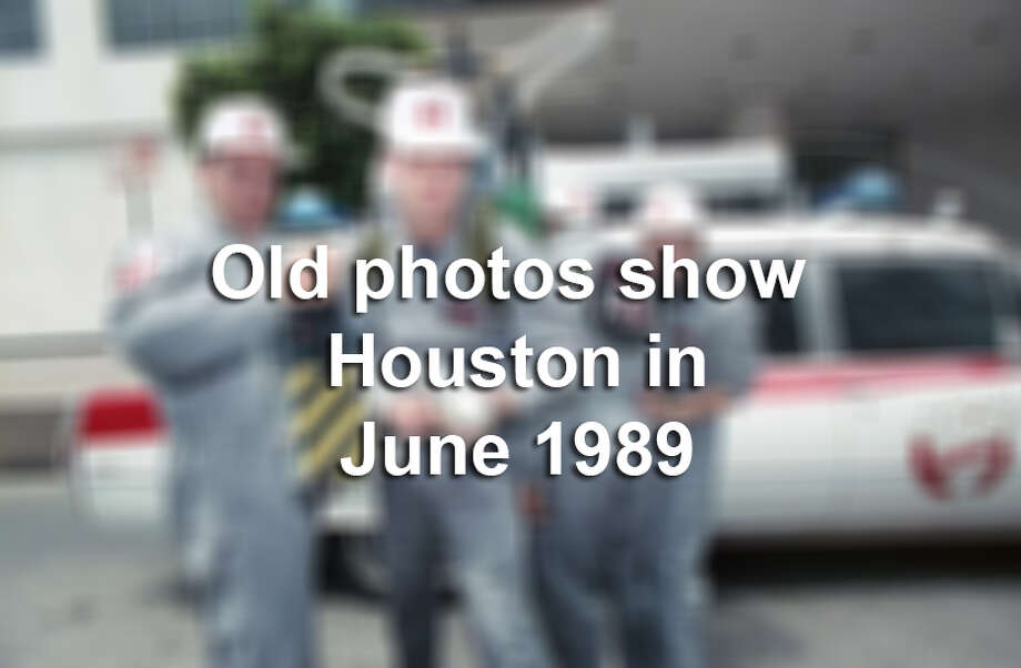 >> Keep clicking through the following gallery to see photos of Houston in June 1989. Photo: Houston Chronicle