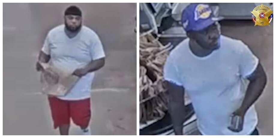 Houston police are asking for the public's help identifying a pair of 'daycare predators' wanted for burglarizing dozens of vehicles at places across Northwest Harris County. The men are accused of specifically targeting places where women are dropping off their children. Photo: Harris County Constable Precinct 5