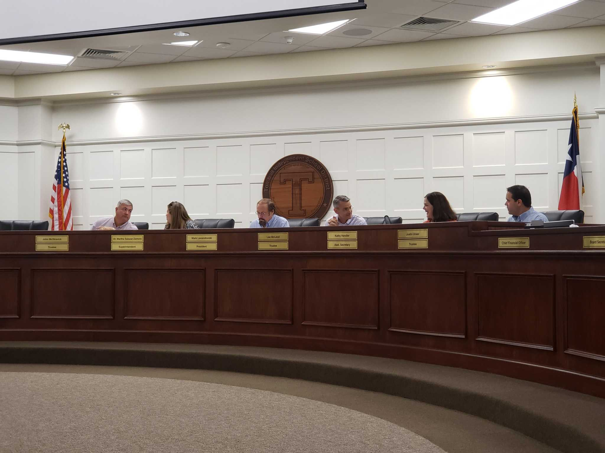 Tomball ISD school board lowers tax rate by 5 cents