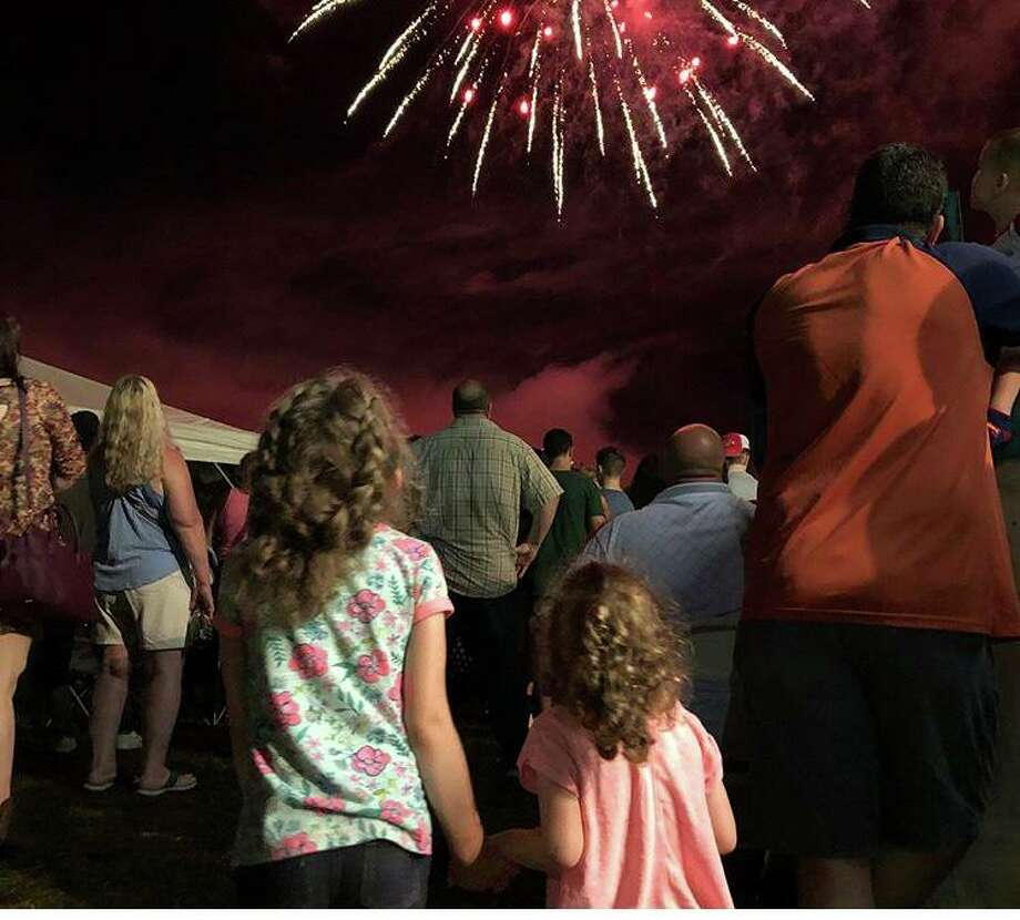 Fireworks will be set off on Saturday at 9:15 p.m. Photo: Potato & Corn Festival / Contributed Photo