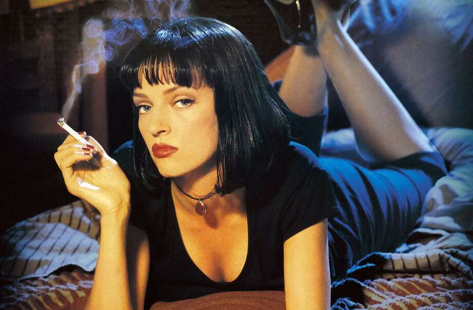 "Uma Thurman in ""Pulp Fiction,"" which will have a 25th anniversary screening at the Avon Aug. 29. Photo: Avon Theatre / Contributed Photo"