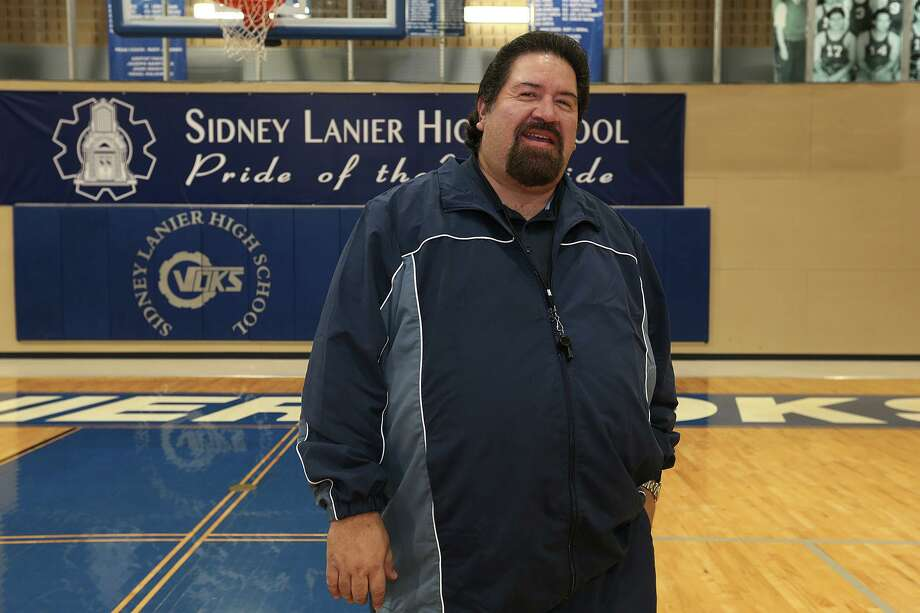 Rudy Bernal, shown in 2014 while he was the Lanier High School boys basketball coach, is one of six honorees who will be inducted into the San Antonio ISD Athletic Hall of Fame Class of 2019 on Aug. 17 at the Alamo Convocation Center. Photo: Jerry Lara /Staff Photographer / © 2014 San Antonio Express-News