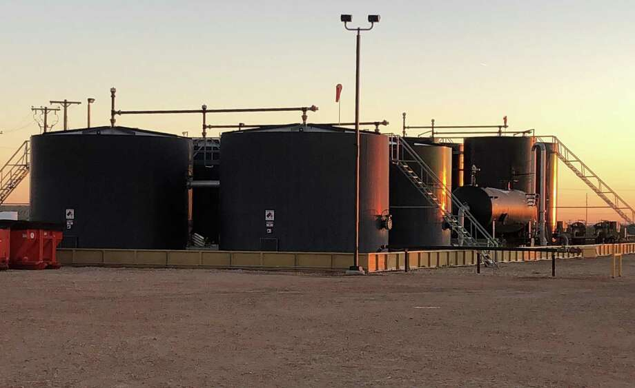 Houston oilfield water management company Solar Water Midstream owns and operates water recycling and saltwater disposal well sites in the Permian Basin of West Texas and southeastern New Mexico. Photo: Courtesy Photo / Solaris Water Midstream