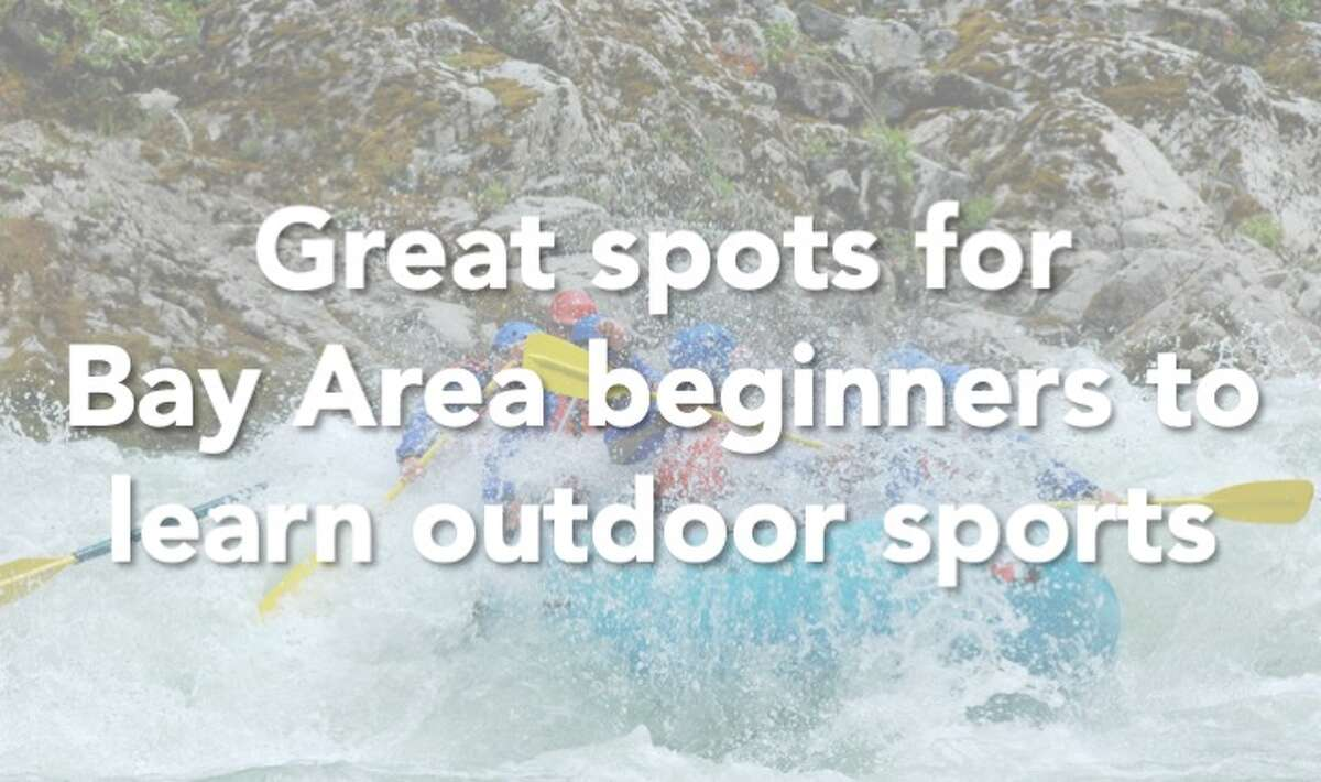 Click through the gallery to check out the best spots around the Bay Area to learn outdoor sports.
