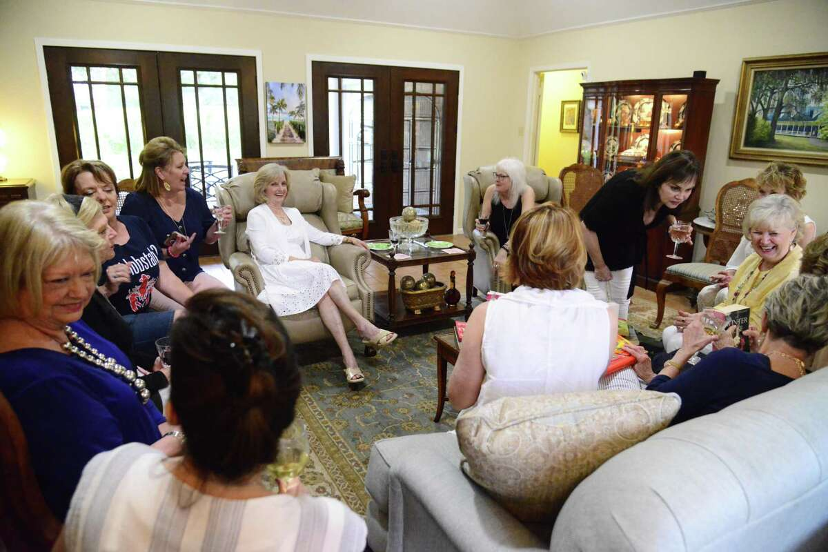 For the past eight years, the dozen members of the Rookie Bookies book club have met the first Monday of each month at a member's home. Club members describe their book discussions as
