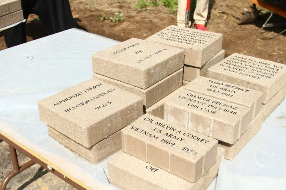 Order forms for personalized bricks, which honor all mid-Michigan veterans in all branches of the United States military, as well as the loved ones who support those who serve, are available from Big Rapids City Hall and AMVETS Post No. 1941. Forms are due to City Hall by Friday, Dec. 29. (Pioneer File Photo)