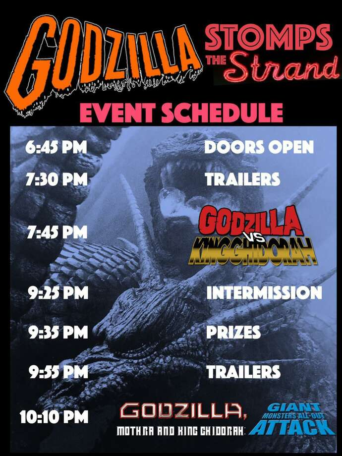 Godzilla fans will have a blast at the Strand this weekend. Photo: Contributed /