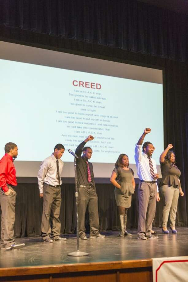 MARTIN LUTHER KING WEEK: Members of Black Leaders Aspiring for Critical Knowledge perform at Williams Auditorium