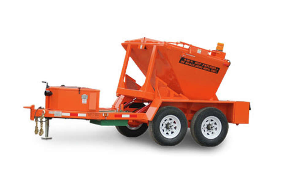 "POTHOLE PATCHER: The Big Rapids City Commission voted 5-0 on Monday to purchase a trailer that will keep ""hot mix"" asphalt warm the in winter, allowing work crews to properly repair roads. (Courtesy image)"