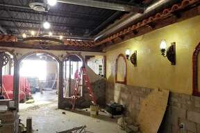 """The developers of the quickly-transforming EastGate Plaze in East Alton released new photos this week showing the progress of the sprawling spaces that will be Pancho's Mexican Restaurant and Grill and Club Fitness. EastGate's Facebook page on Thursday, as it has been wont to do, also teased an upcoming announcement. 'We're signing some paperwork, and hope to announce by the end of the week. Stay tuned!! Hint: It's not a grocery store,"""" the post reads. Pancho's and Club Fitness are expected to open in early August. J.J. Thermo's Bar and Grill is the latest business to open in the revamped plaza, also home to Blue Ice Creamery, Julia's Banquet Center, AMC Theater, East Alton Ice Arena, Elite Hockey Facility, Jackpot 777 and Dollar General."""