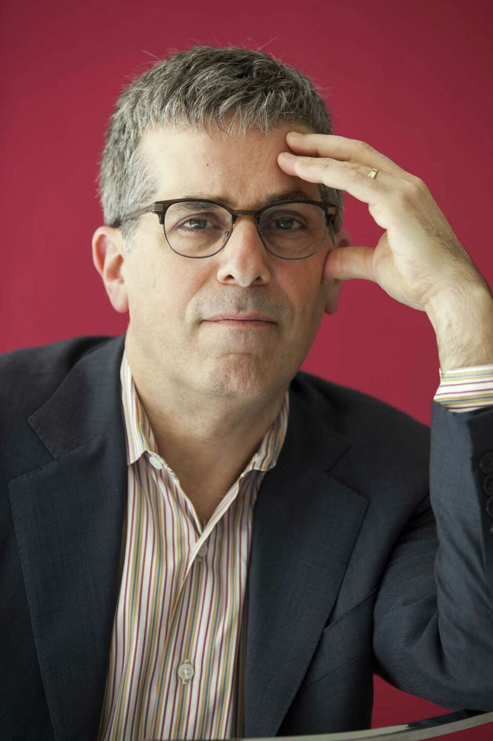 Jonathan Lethem, American writer, Milano, Italy, 20th May 2017. (Photo by Leonardo Cendamo/Getty Images)