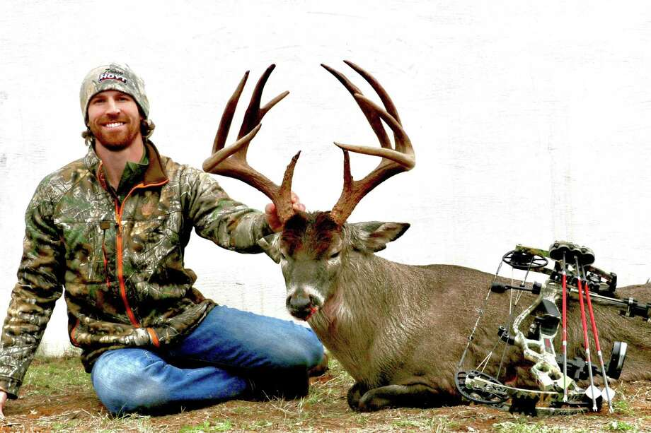 """Former UT and NFL receiver Jordan Shipley will be the guest speaker at the annual Conroe First Baptist Sports and Outdoor Banquet in early August. Shipley is the co-host of """"The Bucks of Tecomate"""" television show on the Sportsman Channel."""
