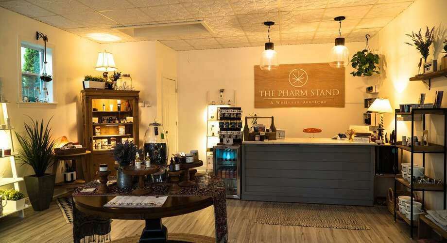 The Pharm Stand in Armonk, N.Y. The store's owner, Chris Singleton, will be opening a Ridgefield CBD shop this summer. Photo: Contributed