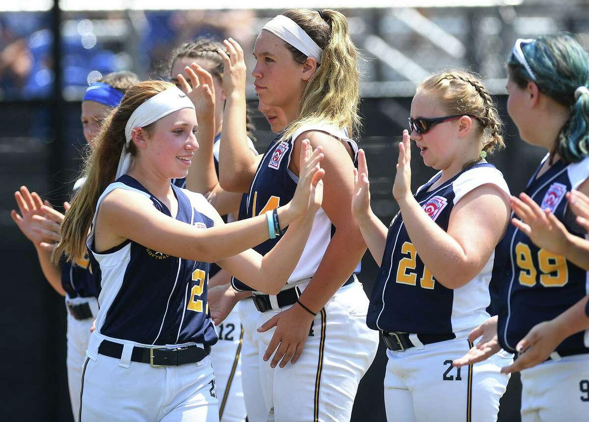 Milford loses 3-2 to South Williamsport, PA in the championship game of the 2019 Little League Softball Eastern Regional Tournament in Bristol, Conn. on Thursday, July 25, 2019.