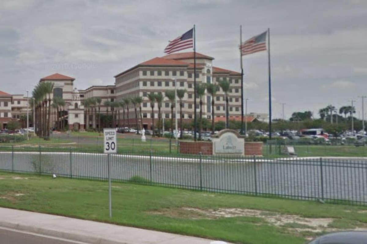 1. Laredo Medical Center Total consumption (gallons): 70,890,000