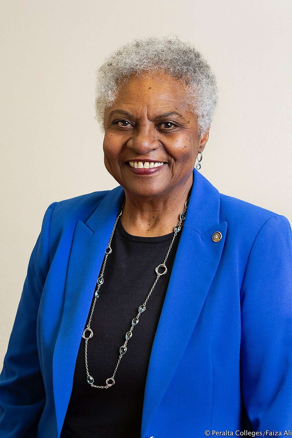 The Peralta Community College District's acting Chancellor Frances White, says she's committed to helping the district emerge from a financial crisis that could lead to insolvency and fraud.