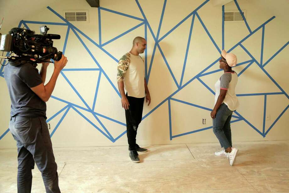 """Houston residents Jon Pierre and Mary Tjon-Joe-Pin star in the HGTV house flipping show """"Going for Sold."""" >>>See photos of the before-and-after project from the first episode. Photo: HGTV, Production Company / © 2019, Scripps Networks, LLC. All Rights Reserved."""