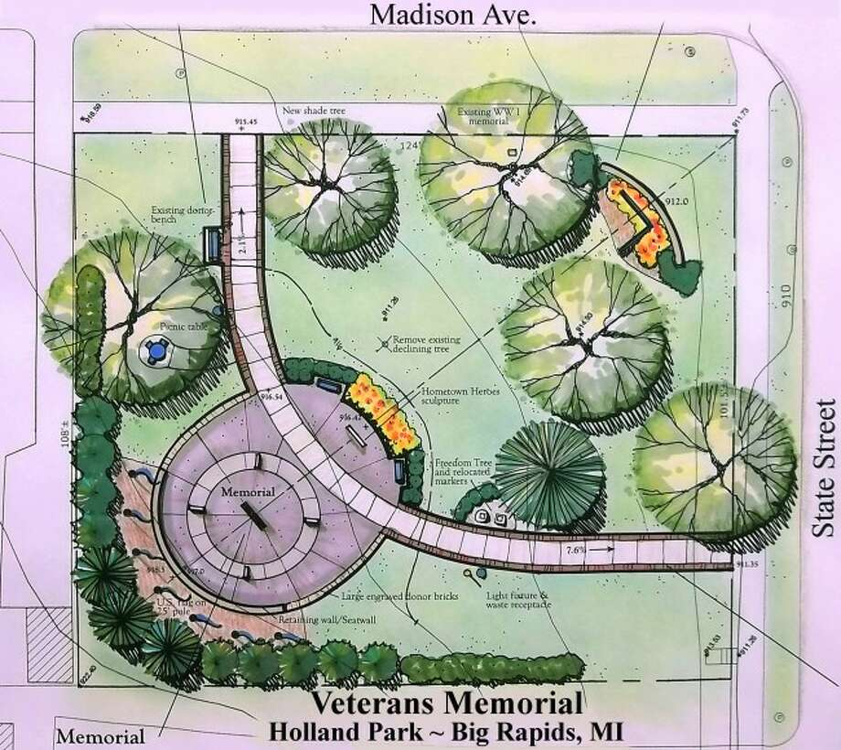 Concept drawing of the proposed memorial
