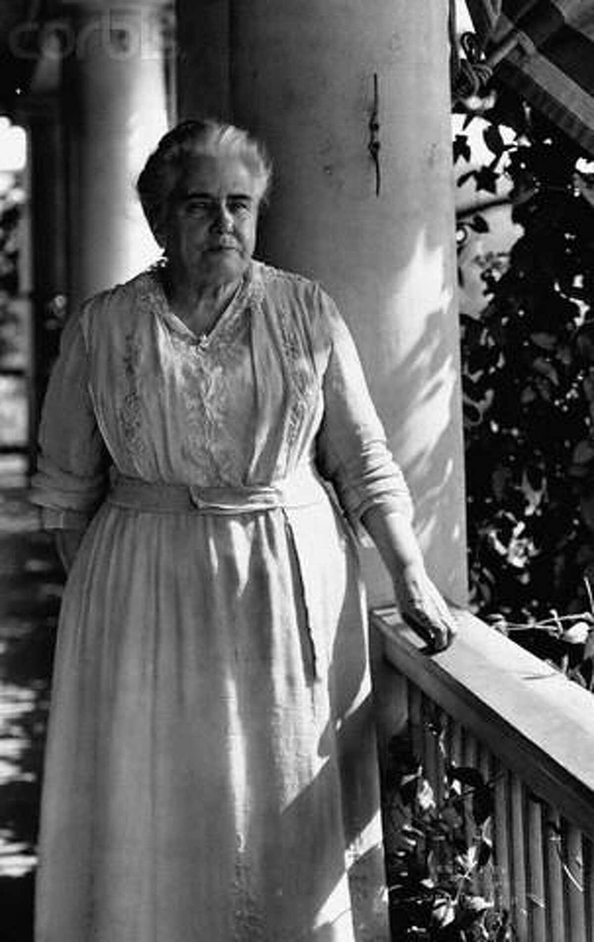 An early 20th century photo of Anna Howard Shaw. (Courtesy photo)