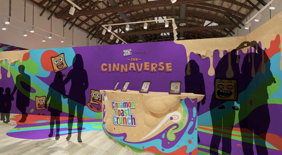 "Cinnamon Toast Crunch is hosting ""The Cinnaverse Experience"" popup at Baybrook Mall in Friendswood Aug. 8-11, 2019 Photo: Contributed/Ketchum"