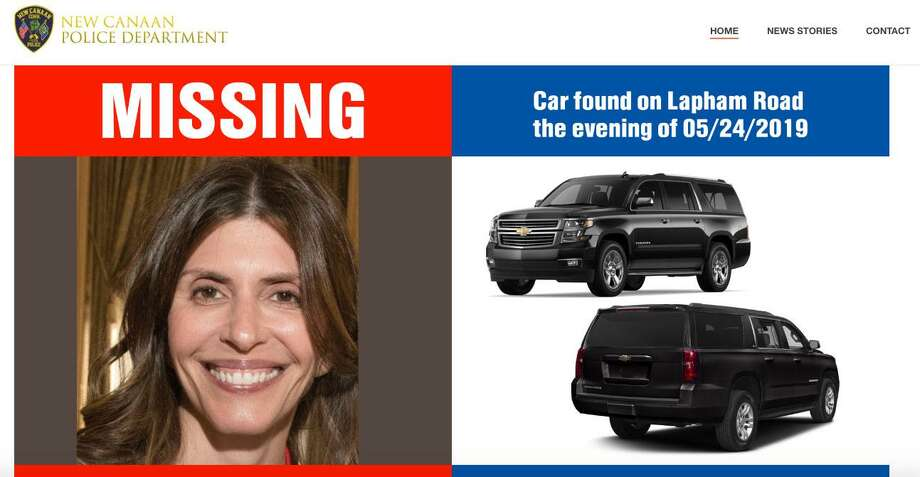 New Canaan Police have set up a website, FindJenniferDulos.com, in their search for Jennifer Dulos, the mother missing since May 24. Photo: Contributed Photo / Connecticut Post